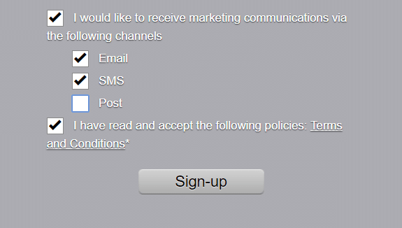 New Product Feature: Marketing Preferences
